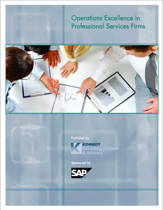 Operations Excellence in Professional Firms